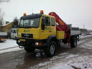 MAN 4x4 EFFER 210