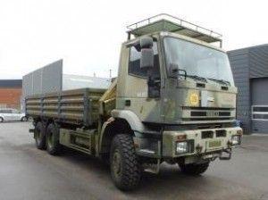 ZDJ NR 1 IVECO podwozie wojskowe