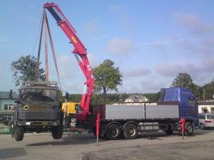 VOLVO FH 12 6x4 HMF 3620 max 12 ton